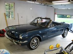 This is my dream car. 1964 1/2 Ford Mustang. This color is pretty close too.