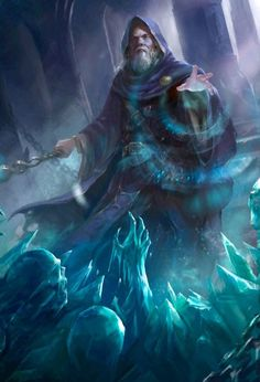 Old cryomancer are a branch of elemental mage that specialize in frost and ice