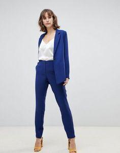 1281282682 Selected femme split hem pants at asos.com