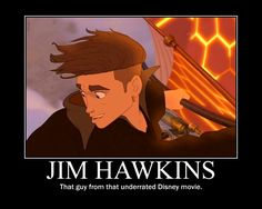 Haha. So true. Hardly anyone knows about Treasure Planet anymore, along with Atlantis, which are two of the best non-princess movies