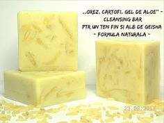 BEAUTICIAN. STELA: ,,OREZ, CARTOF & GEL DE ALOE'' - Cleansing Bar, pt...