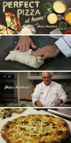 Learn how to make the perfect pizza at home, with five crust recipes, and four sauces, gluten free recipe also included!