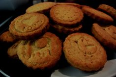 Moja bodkovaná kuchárka: Maslové pečiatkové keksíky Myslím, že nebudem jedi...