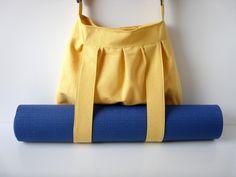 Yoga Tasche Mustard für Yogamatte