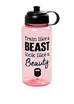 Train Like a Beast Sport Bottle   rue21