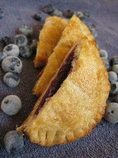 Blueberry Lemon Pastry Pockets