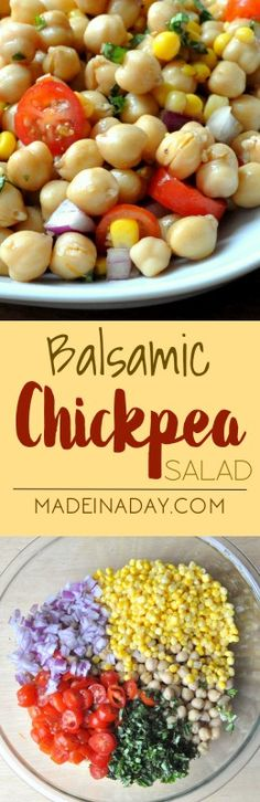 Balsamic Chickpea Ja