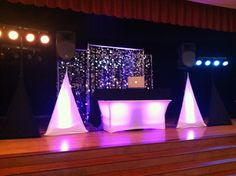 A Shot Of My DJ Rig Set Up From The Wedding Reception I MC