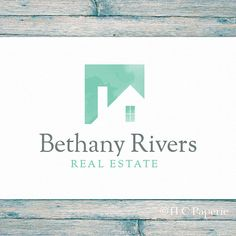 Real Estate Logo, Realty Logo, Custom Logo,  Realtor Logo, Contractor Logo,  Interior Designer Logo, House Logo