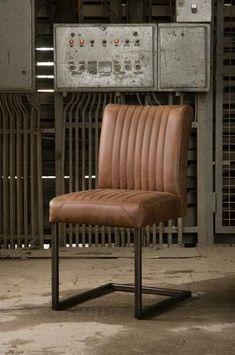 stuhl armlehnen buffel leer leder batse badsal cognac. Black Bedroom Furniture Sets. Home Design Ideas