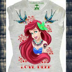 Fashion shirt princess solo su www.sport75.it