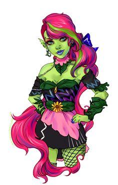 Venus McFlytrap by CowsGoMoose.deviantart.com on @deviantART