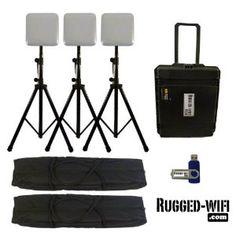 Portable Indoor WiFi kit - 3 APs