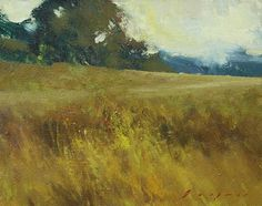 "Golden by Simon Addyman Oil ~ 8"" x 10"""