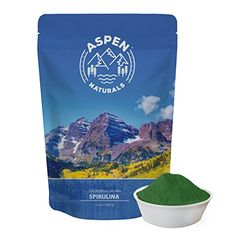 Spirulina Powder California Grown  12 OZ Non GMO Natural Nutrient Dense Vegan Protein Supplement  Detoxifying Superfood  Sourced only from Algae grown in the USA. Aspen Naturals Brand Review https://probioticsandweightloss.info/spirulina-powder-california-grown-12-oz-non-gmo-natural-nutrient-dense-vegan-protein-supplement-detoxifying-superfood-sourced-only-from-algae-grown-in-the-usa-aspen-naturals-brand-review/