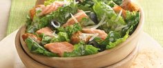 Served hot or cold, salmon makes this salad fit for a king.