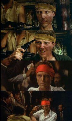 """Christopher Walken in """"The Deer Hunter"""" (1978) Best Supporting Actor Oscar 1978"""