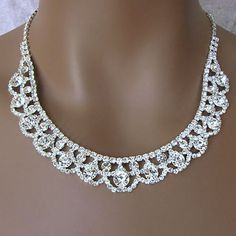 ULTRA CLEAR GLAMOUR RHINESTONE JEWELRY  $65 SETONLY ONE SET AVAILABLE