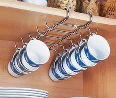 Mug Storage and Drying Rack