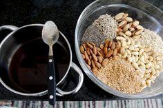 Receita Básica para Granola Crocante