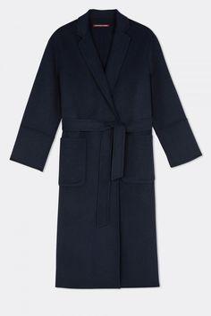 Comptoir Des Cotonniers Oversize Maxi Coat With Wool, £260
