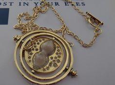 Harry Potter - Hermione Time Turner Necklace. Starting at $9 on Tophatter.com!
