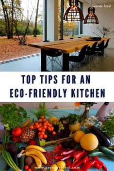 The kitchen is the heart of the home and also the best place to find greener alternatives to food, appliances, utility systems, and cleanliness. | Eco-Friendly Home Tips | Guide To An Eco-Friendly Kitchen | How To Make Your Kitchen Green | Eco-Friendly Living Tips | Green Living Tips | Kitchen | Reduce Carbon Footprint In The Kitchen  #kitchen #home #ecofriendlyliving #tips #homeguide