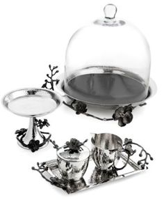 Michael Aram Black Orchid Serveware Collection