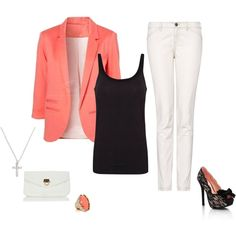 My first polyvore outfit! LOVE!
