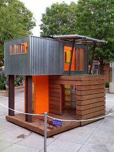 Playhouse home-style-outside