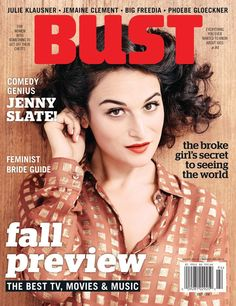 BUST August/September Issue On Newsstands Today!
