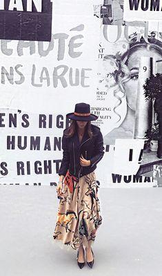 Belinda at the Dior fashion show #belindaperegrin #belinda