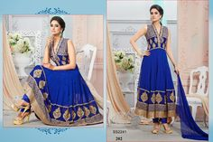 202-Georgette+And+Net+Embroidery+Designer+Blue+Anarkali+Suit.jpg (1600×1066)