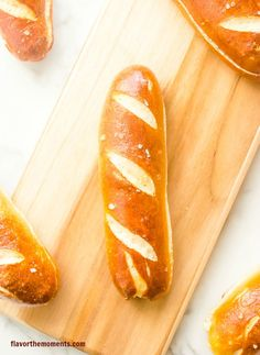 Soft Pretzel Hot Dog Buns   Flavor The Moments