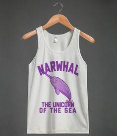 Narwhal The Unicorn Of The Sea #narwhal #unicorn #rainbow