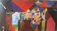 On a Paul Klee kick - Municipal Jewel' (1917)