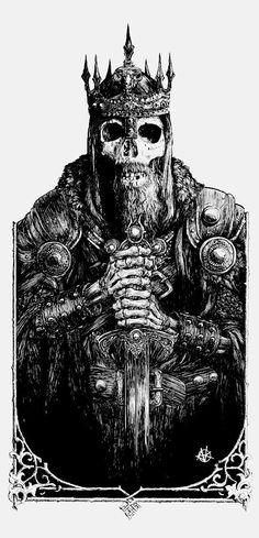"""sorcerersskull: """" Art by Vance Kelly """""""