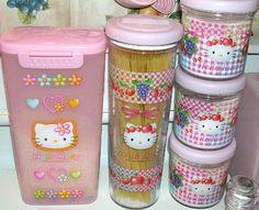Hello Kitty Kitchen  | Hello Kitty Kitchen Canisters