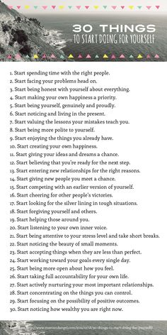 30 things to stop doing to yourself pdf