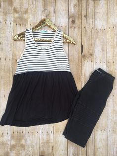 Another flowy one gals! What's not to love about black? It's SO forgiving! Pair this with our skinny motos and you're good to go! 👌🏼 | Shop this product here: http://spreesy.com/that1place/32 | Shop all of our products at http://spreesy.com/that1place    | Pinterest selling powered by Spreesy.com