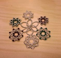 Swarovski Snowflake Decorations by CrystalFoxTreasures on Etsy