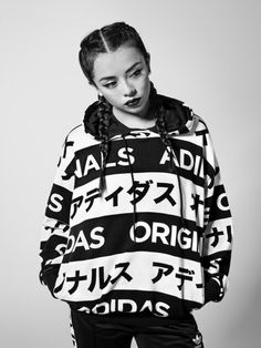 adidasoriginals: With high-contrast monochrome and Japanese block script, the Typo Monogram capsule drops October 1st.
