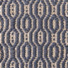 main blue inside grey on the white yarn Vandra Rugs Yarn Colors, Natural Linen, Scandinavian Design, Wool Felt, Bespoke, Weave, Rugs, Diamond, Grey