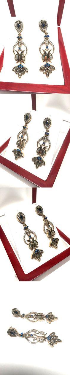 Other Fine Earrings 10984: 14K Yellow Gold Chandelier Dangle ...