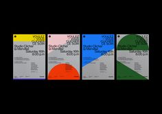 Clicher on Behance Typography Poster Design, Graphic Design Posters, Graphic Design Inspiration, Branding Design, Poster Designs, Minimalist Graphic Design, Ticket Design, Portfolio Site, Behance