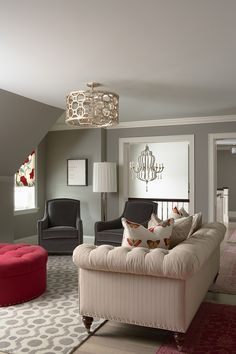Benjamin Moore November Rain: Great Gray With A Balance Of Warm And Cool ~ Decoration Inspiration