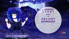 A Graphic Story Based on Ancient Astrology (and not only).  My big project I have planned since childhood. The very first revealment. Stay tuned for more news!  Do you know... what is your destiny? (ἆρ' οἶσθα τὴν τύχην σου;)  A visual with one of the main characters.