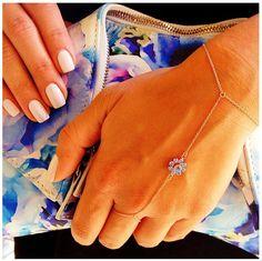 Hand-piece, bracelet, ring-bracelet