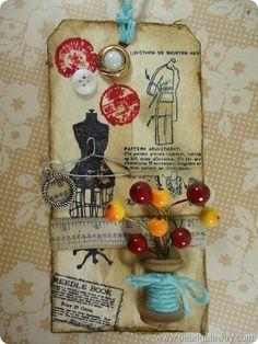 Tim Holtz Tag - May 2012