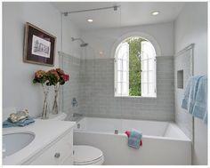 shower & tub combo..